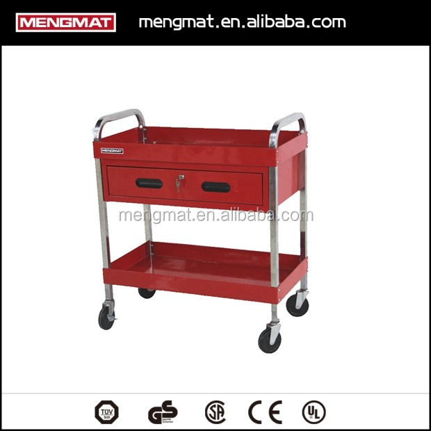 Stainless steel tool cabinet metal cabinet tool cart storage cabinet
