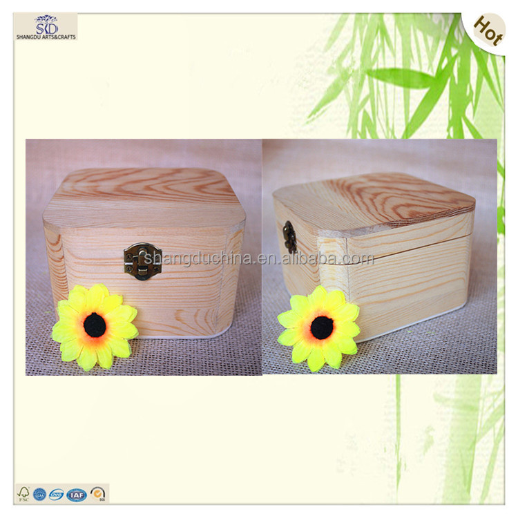 best selling mini cute cufflink wood gift box