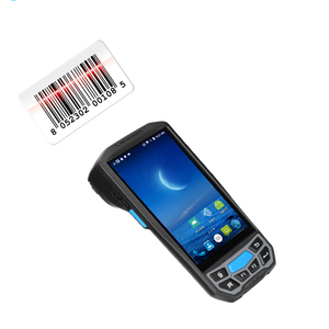 Handheld Android Mobile QR Code Reading MRZ Passport Reader wireless 2d barcode scanner with memory nfc rfid data collector 4G