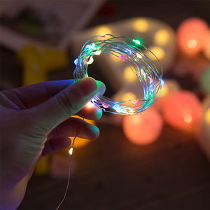 Christmas new year new product copper wire string lights tree decoration