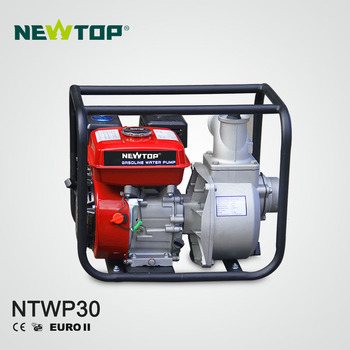 6.5HP 4stroke High Pressure Agricultural 3'' gasoline water pump