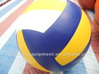 5# PVC leather volleyball