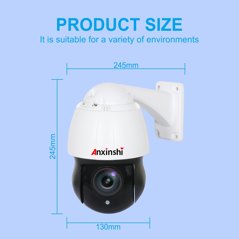 4.5 inch PoE NetWork Camera in Synchro zoom Laser Technology IP PTZ night version 150M