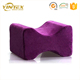 Medical Usage Pain Relief Contour Ergonomic Design Leg And Knee Support Rest Memory Foam Pillow