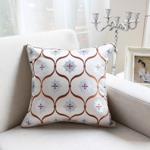 New Listing Mediterranean fashion style printed cotton pillow, sofa cushions, office cushions