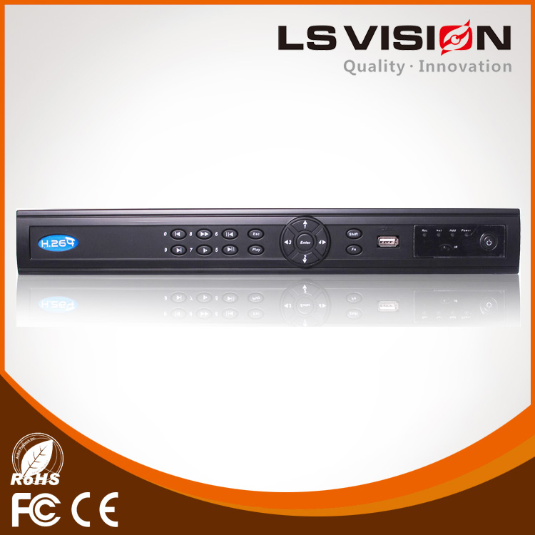 LS VISION 16 channel IP Two-way voice intercom nvr cctv