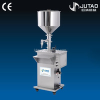 Pneumatic piston filling machine, mini liquid filler