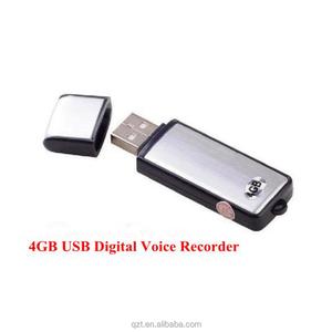 New Updated Mini USB Voice Recorder Recording Pen + 4GB/8GB usb flash drive