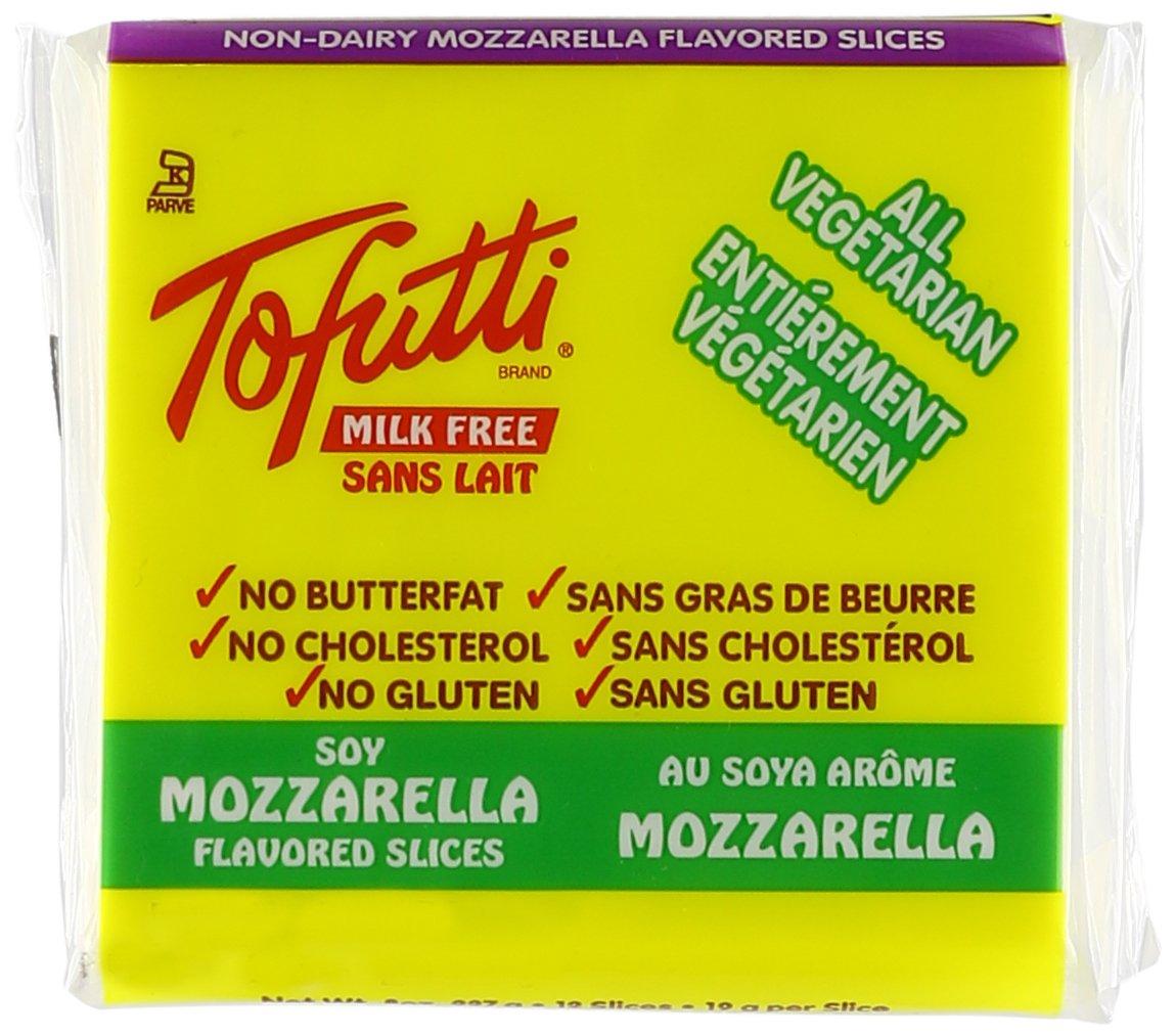 Tofutti, Soy Cheese Slices, Mozzarella, 8 oz