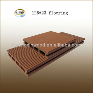 HDPE plastic composite wood polymer composite deck boards