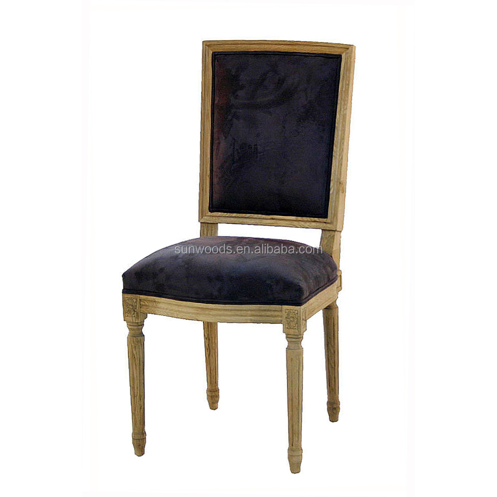 High quality antique solid wood bar chair mordern black living room chairs