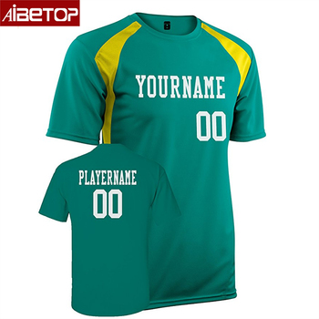 8c3e7127c1a Custom Futsal wear printed sublimation jersey soccer football shirt uniform