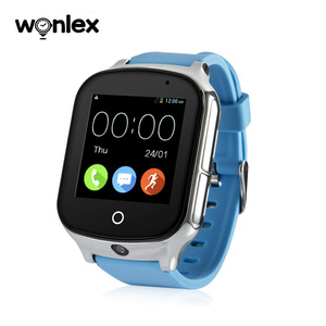Wonlex New 3G smart watch phone with gps tracker for for senior citizen
