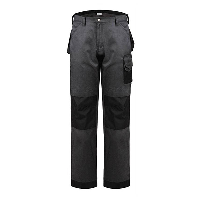 High-Quality Workplace Men's Trousers Durable Safety Work Pants With Knee Pad Waterproof Greaseproof Workwear Work Pants