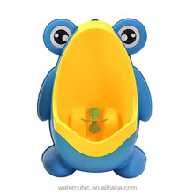 Plastic Cartoon Frog Urinal For Boys baby potties Children Kid Protable Training Toilet Seat Wall-hung Chair for Infant pee