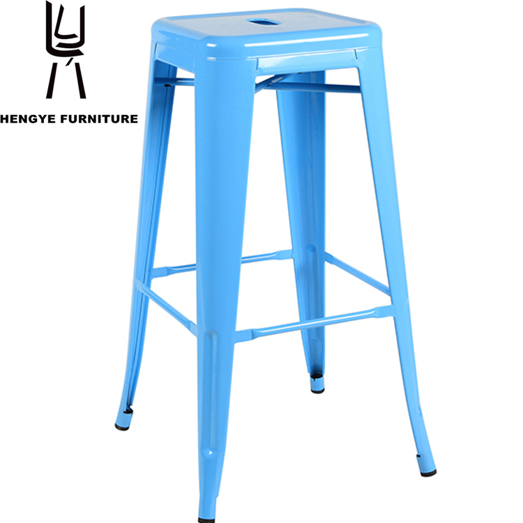 Popular Strong firm 2016 new fashion salon furniture metal stool, metal round metal stools