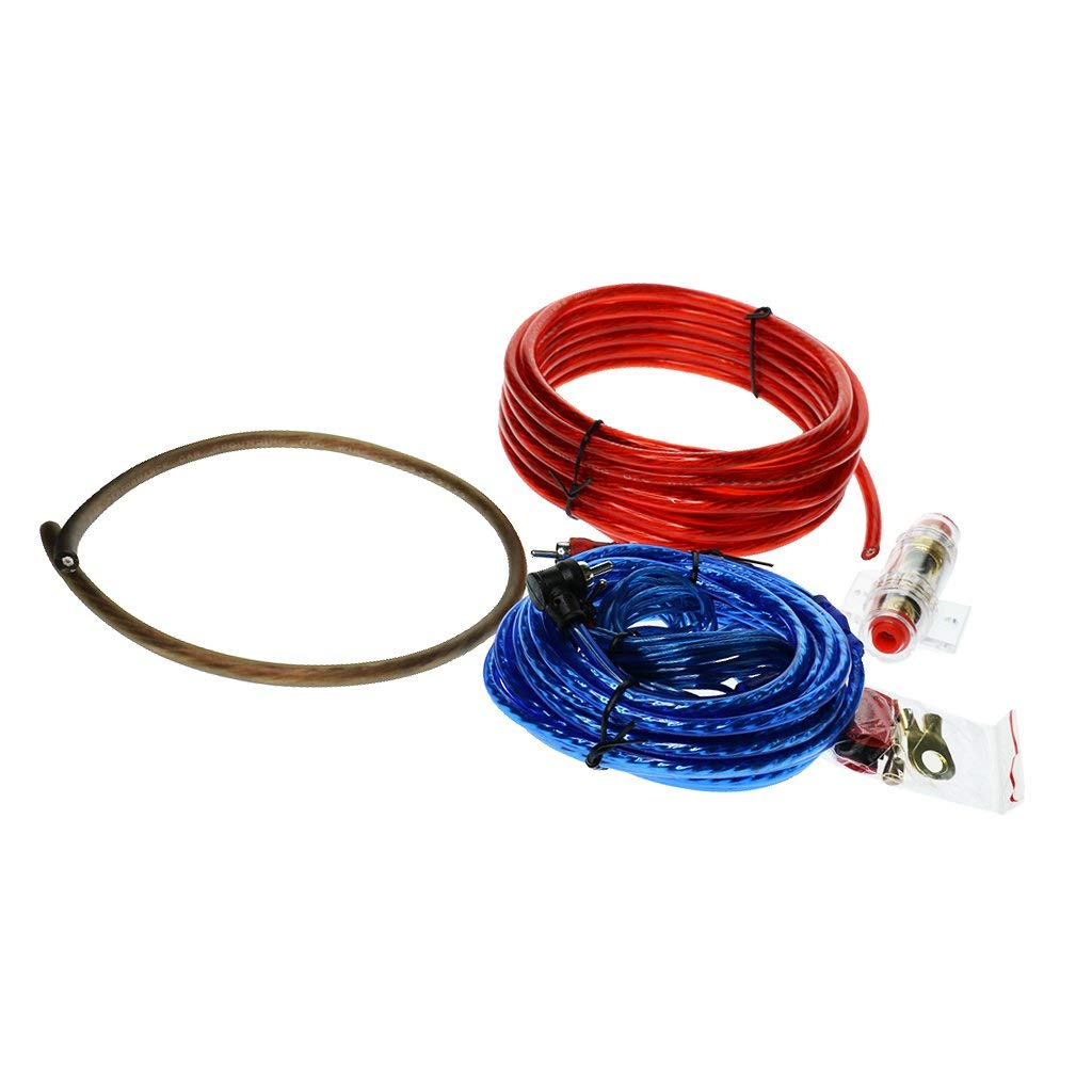 Cheap Audio Cable Wiring Diagram Find Networking Get Quotations Homyl Universal Car Subwoofer Amplifier Install Amp Wire Kit