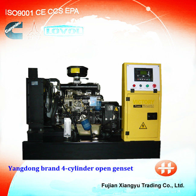 YANGDONG Serious diesel genset 20KW/25 KVA without canopy open