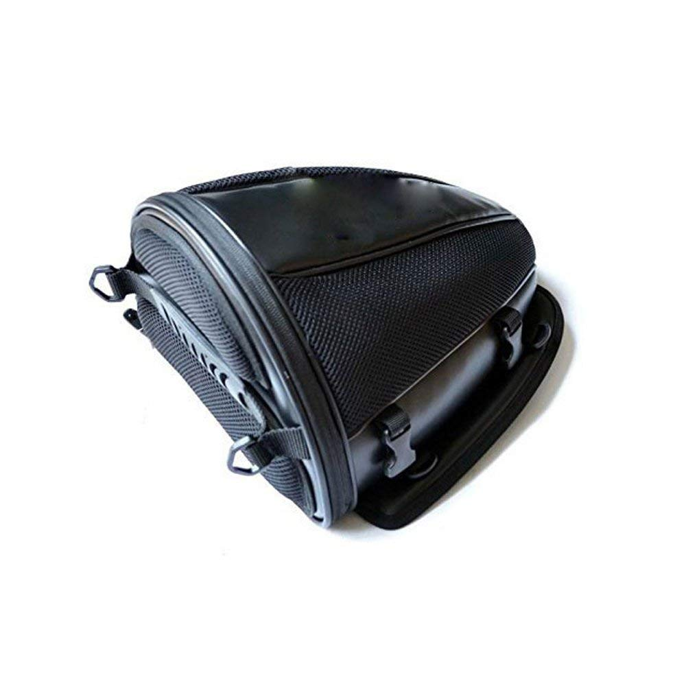 0366d326078d Get Quotations · Motorcycle Tail Bag Rear Seat Bag Rear Tail Motorcycle  Travel Bag Waterproof Knight Pack