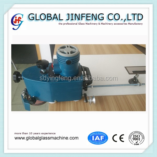 JF Small Portable hand glass Flat and Round and OG and Bevel edge grinding and polishing machine
