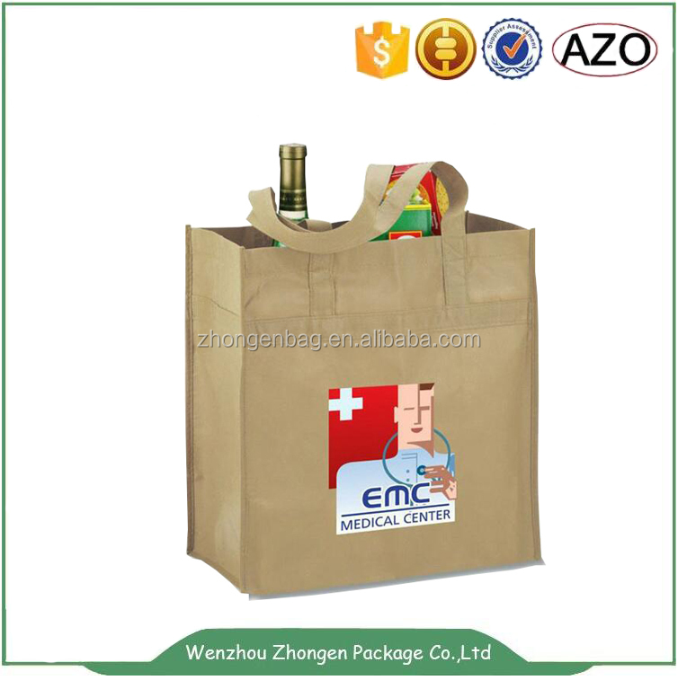 Wine bottle package non-woven bag wine tote bag