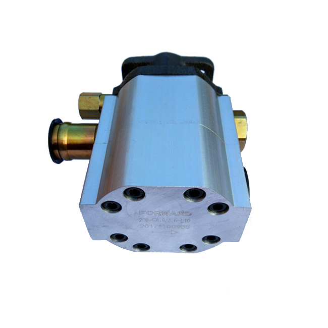 two stages hydraulic gear pump for hydraulic log splitter for sale