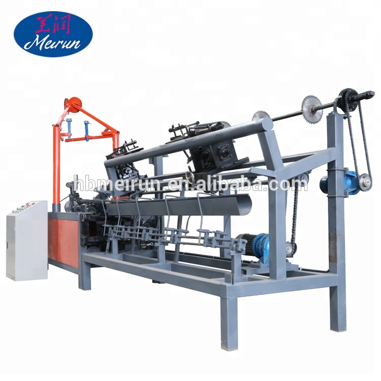 Anping Fully Automatic Chain Link Fence Machine With