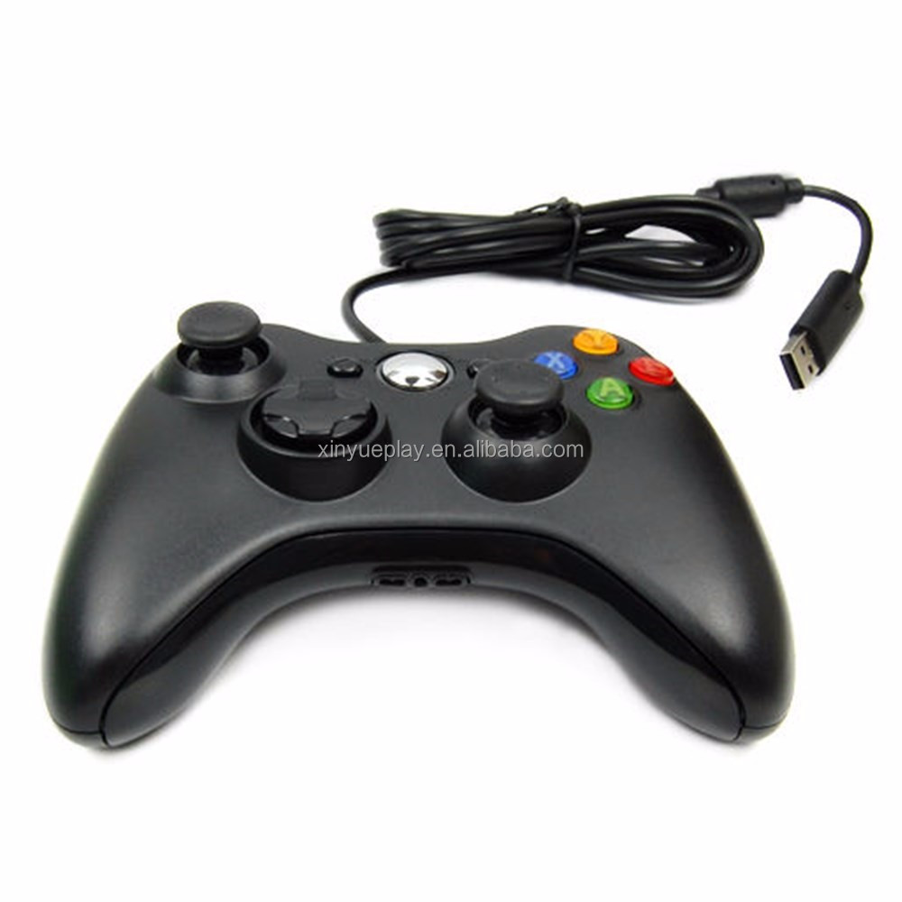 Para XBOX Modelo 360 PC Wired Game Controller USB venda Quente