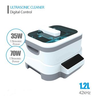1.2L Tunable 35W / 70W 42kHz Professional Mini Ultrasonic Cleaner
