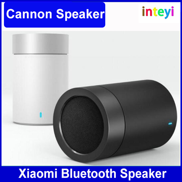New Original Xiaomi Mi Cannon Bluetooth Speaker 1200mAh Battery Xiaomi Bluetooth Speaker 2ND PC + ABS Material BT 4.1