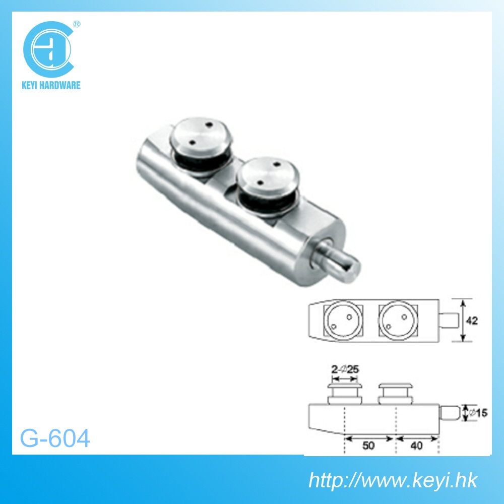 G-604, High quality stainless steel glass swing door hardware fitting/swing door top pivot