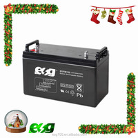 Factory directly sale maintenance free 12 volt lead acid battery 12V 120ah