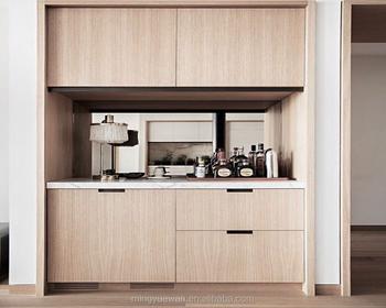 Refrigerator Cabinet Hotel Room Furniture Minibar