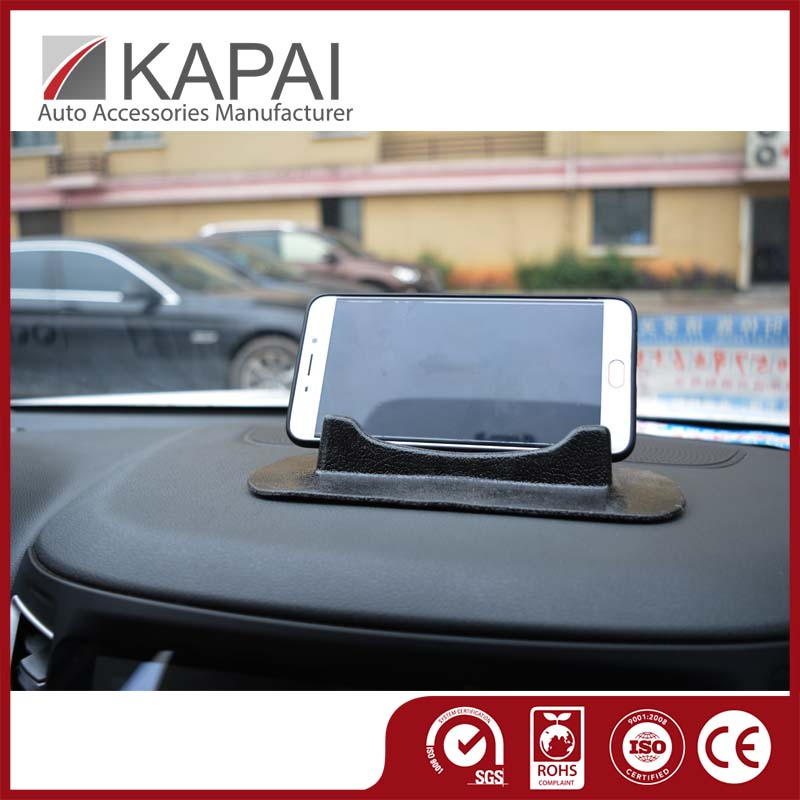 Car interior accessories sticky PU nano pad for cell phone