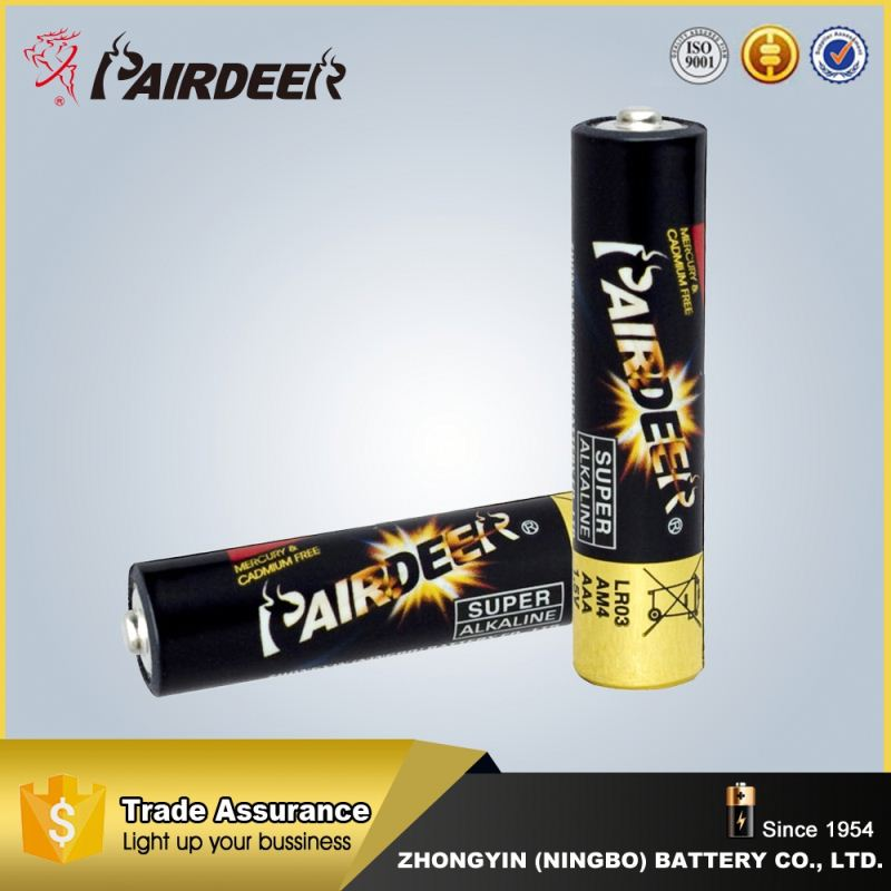 Wholesale cheap factory supply 4 pieces alkaline batteries