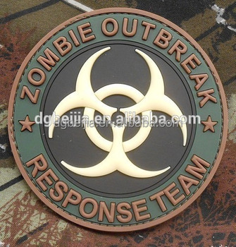 Wholesale Custom Pvc Emblem Military Patch