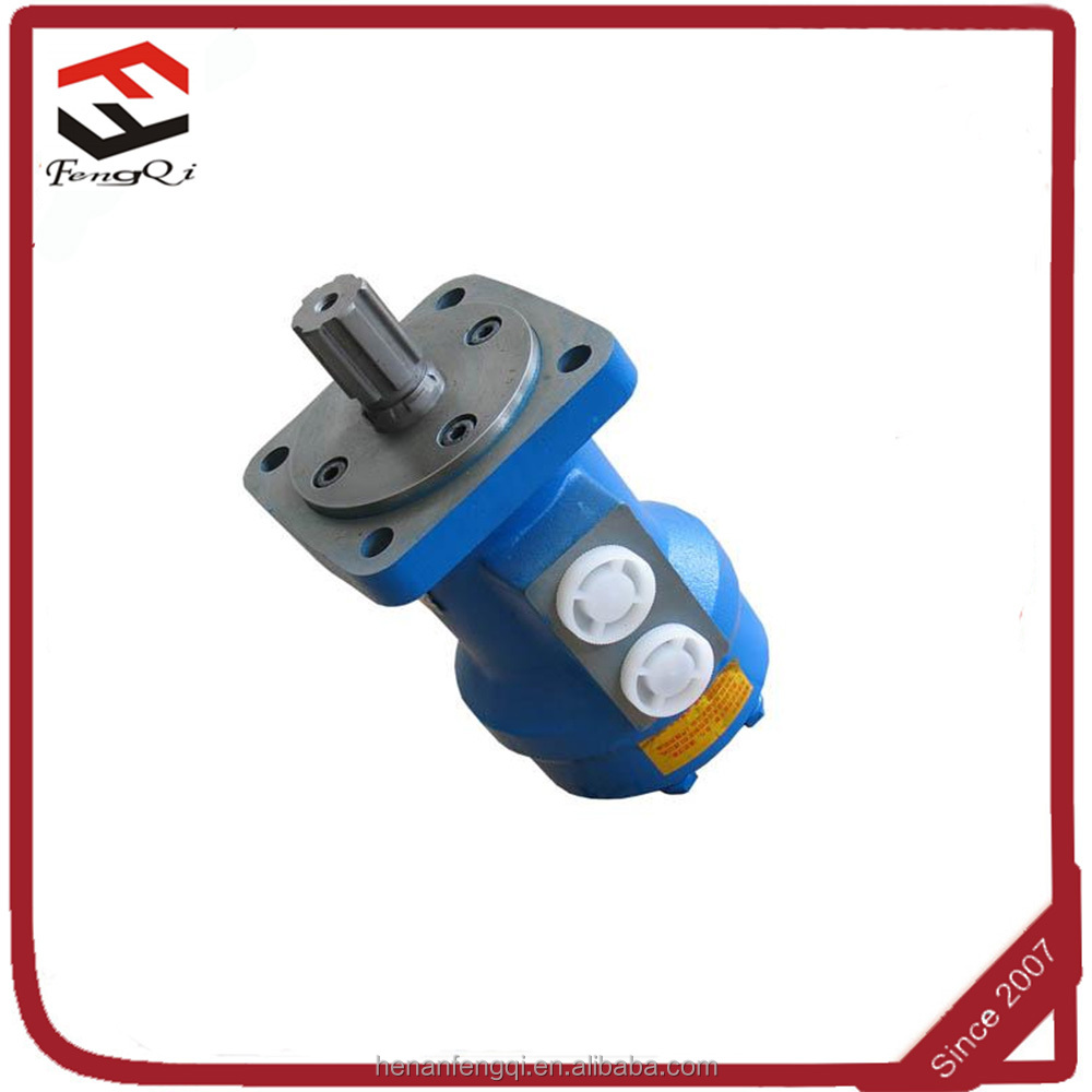 BMF indexing division hydraulic motor for harvesters