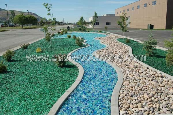 Bon Garden Decoration Glass Rocks Garden Decoration Glass Rocks