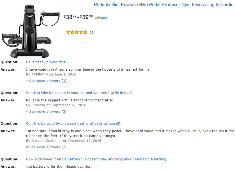 Stationary Upright Exercise Bike Cardio Indoor Cycle