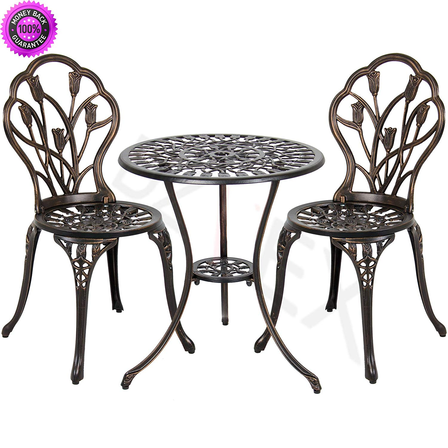 DzVeX Cast Aluminum Patio Bistro Furniture Set in Antique Copper And patio  furniture home depot patio - Cheap Antique Furniture Sale, Find Antique Furniture Sale Deals On