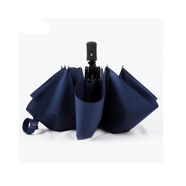 China New Invention 3 Foldable Auto Open Close Umbrella фото
