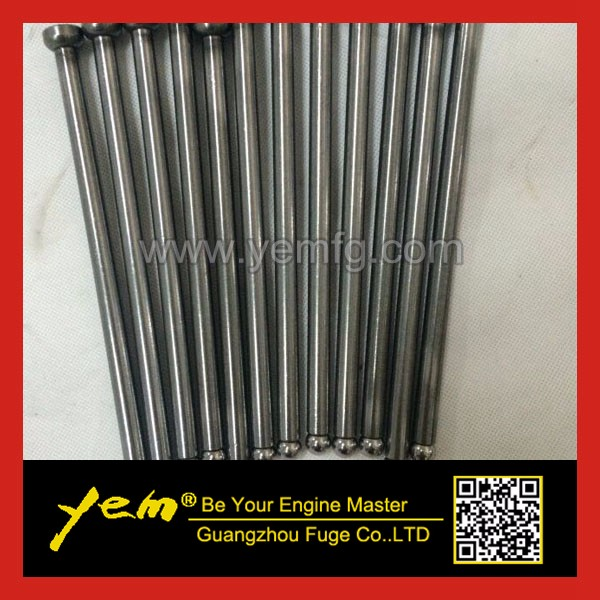 6D16 valve push rod ME071930 engine push rod for excavator engine