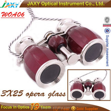 promotional Center Focus 4X30 compact opera glasses binoculars