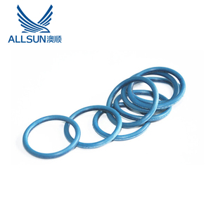 Electrically conductive elastomer silicone rubber O-rings