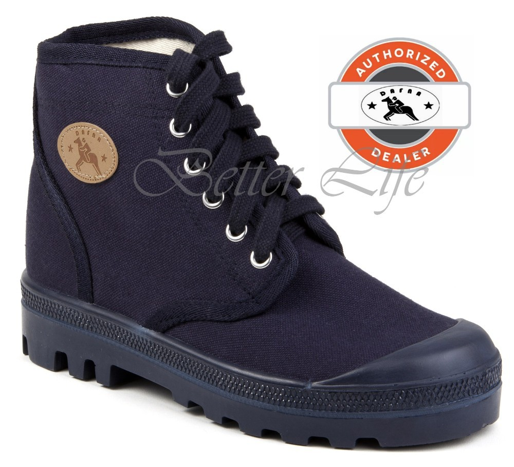 Navy Blue Army Boots Dafna Scout Palladium Canvas Combat Shoes All Sizes -  Buy Army Boots,Combat Shoes,Palladium Product on Alibaba com