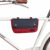 Cool Canvas and Leather bike cycling Bag