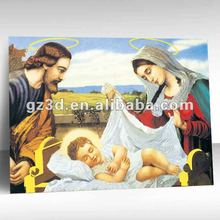 Hot sale China style 3d lenticular oil painting