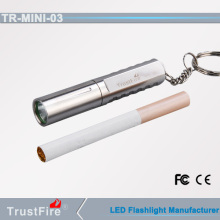 aaa battery led flashlight trustfire mini-03 mini keychain led flashlight 200 lumen torch