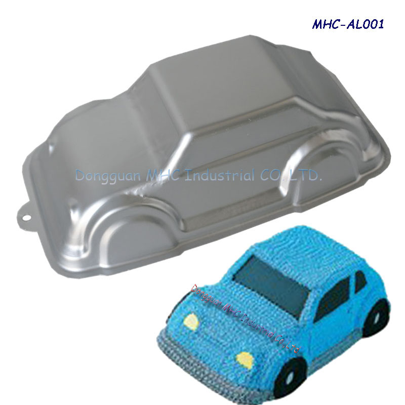 New aluminum cake molds,car shape cake moulds,the best presents for kids