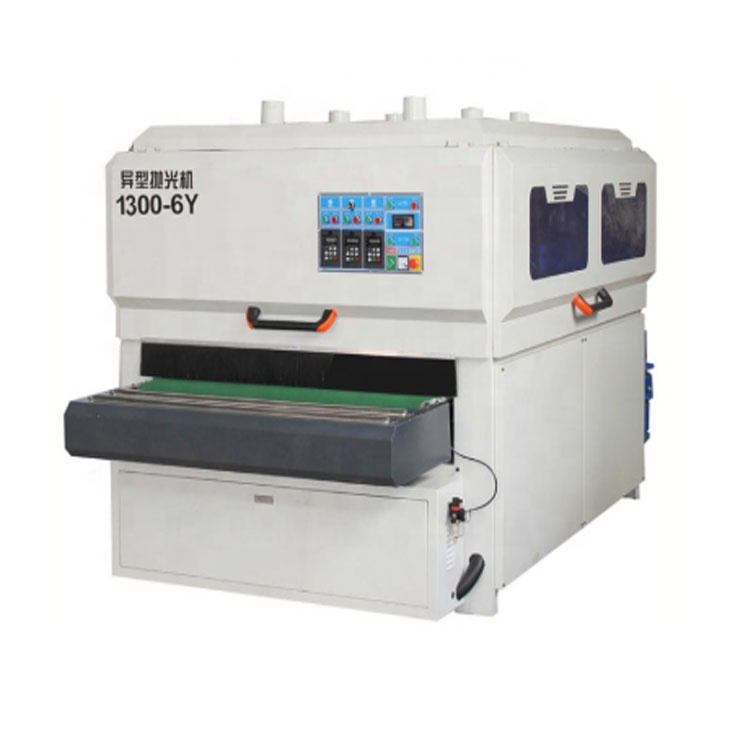 1300-6Y bàn chải gỗ sơn mài máy chà nhám sàn gỗ máy đánh bóng tự động